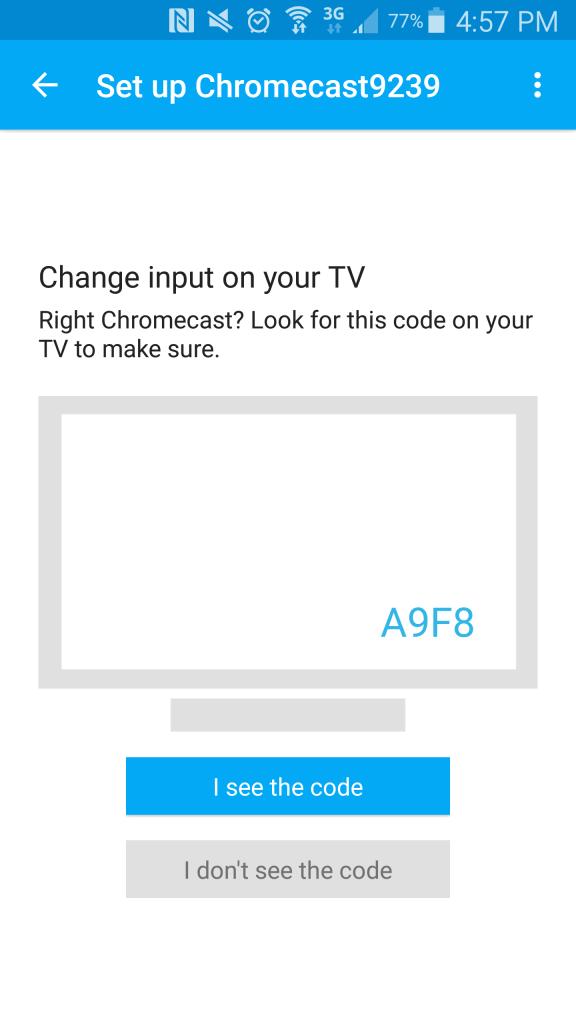 Chromecast-app-code