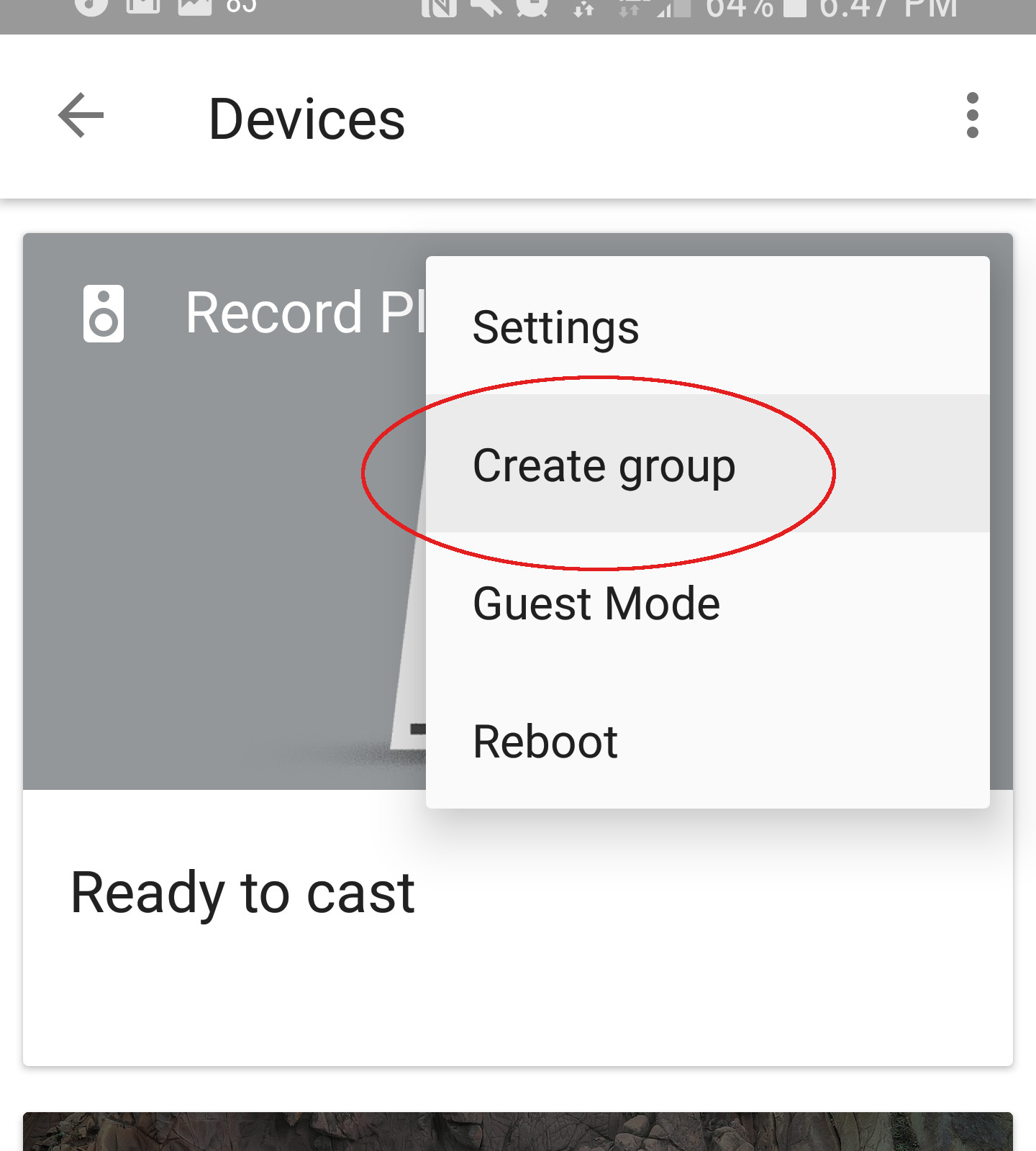 Chromecast Audio Group