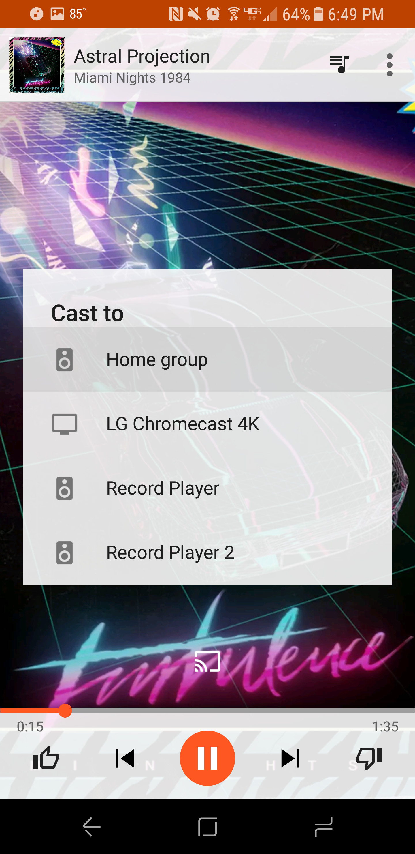 Play Music Cast